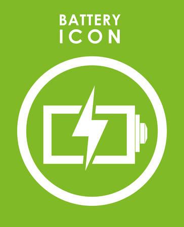 Batterie-Icons Grafik-Design, Vektor-Illustration eps10