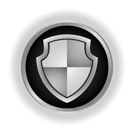 security system: Security concept with shield shape icons design, vector illustration 10 eps graphic.