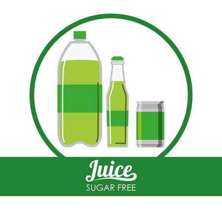 carbonated: Drinks concept with soda icon design, vector illustration 10 eps graphic.
