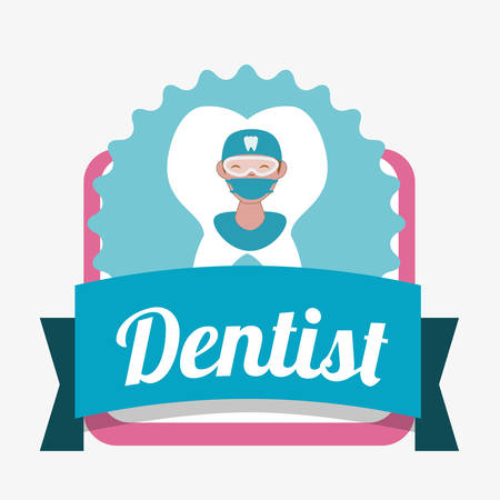 doctor appointment: dental concept with healthy lifestyle icon design, vector illustration 10 eps graphic.