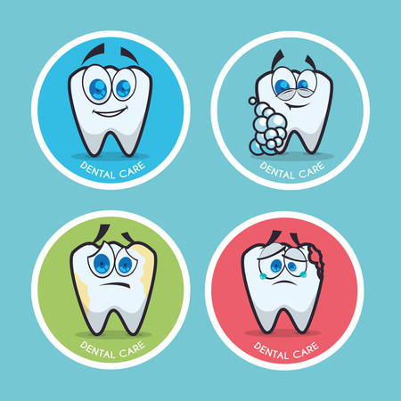 hygienist: dental concept with healthy lifestyle icon design, vector illustration 10 eps graphic.