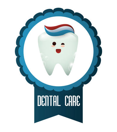 dental hygienist: dental concept with healthy lifestyle icon design, vector illustration 10 eps graphic.