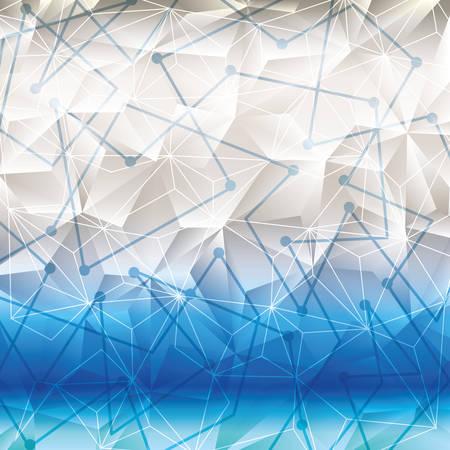 thirties: Geometry wallpaper or background, vector