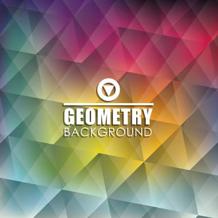 twenties: Geometry wallpaper or background, vector