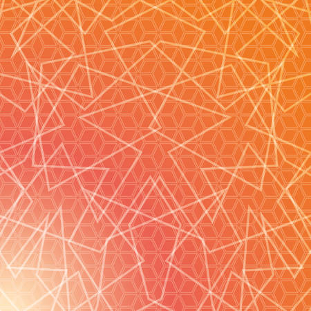 thirties: Geometry wallpaper or background, vector
