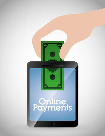 payment: Online payments icons graphic design, Illustration
