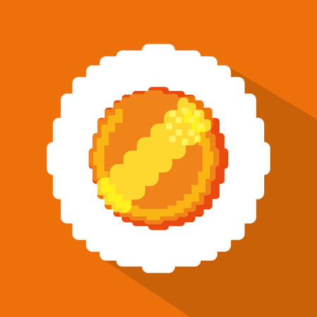videogame: Videogame concept with pixel icon design, vector illustration 10 eps graphic. Illustration