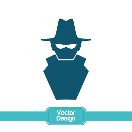 security icon: Security system concept with technology icon design, vector illustration