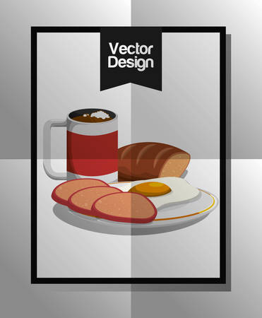 drink coffee: Coffee concept with icon design, vector illustration 10 eps graphic.