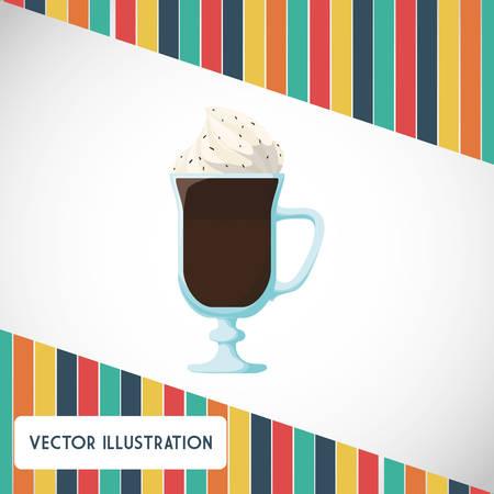 truffle: Chocolate concept with menu icon design, vector illustration 10 eps graphic. Illustration