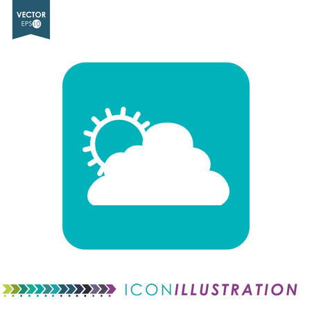 wheater: icon concept with wheater icon design, vector illustration 10 eps graphic.