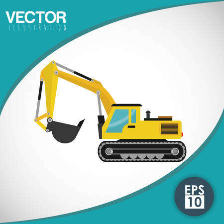 construction safety: Construction concept with industry icons design, vector illustration 10 eps graphic.