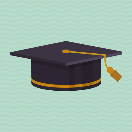 commencement: Education concept with icon design, vector illustration 10 eps graphic.