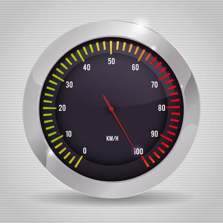 speed concept with icon design, vector illustration 10 eps graphic.