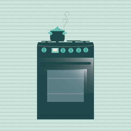 arts system: Kitchen concept with supplies icon design, vector illustration 10 eps graphic. Illustration