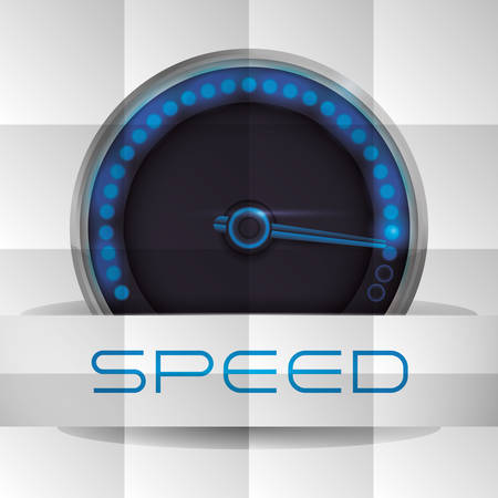 racecourse: speed concept with icon design, vector illustration 10 eps graphic.
