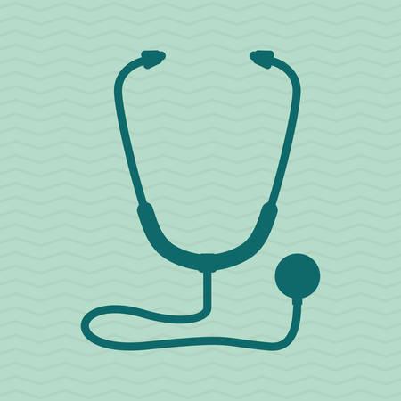 Medische zorg concept met pictogram ontwerp, vector illustratie 10 eps grafische.