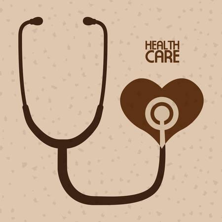 Medische zorg concept met pictogram ontwerp, vector illustratie 10 eps grafische. Vector Illustratie