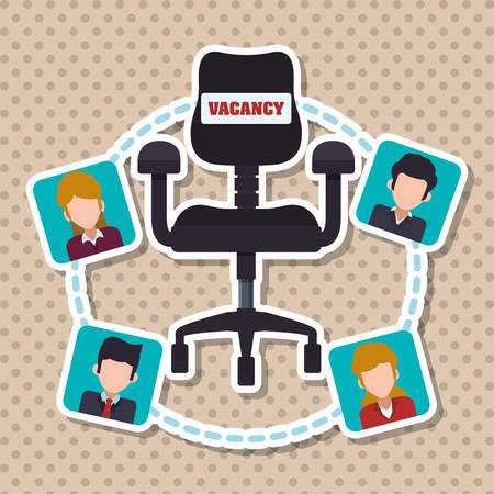 resources: human resources concept with icon design, vector illustration 10 eps graphic.