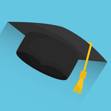 bachelor's: Graduation  concept with icon design