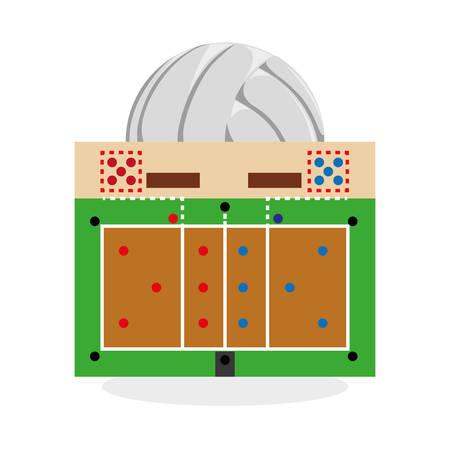 Sport concept met design icoon Stock Illustratie