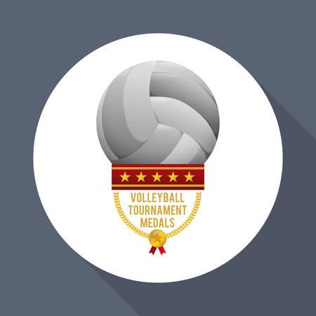 Sport concept met pictogram ontwerp, vector illustratie 10 eps grafische. Stock Illustratie