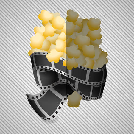 strip show: Movie concept with icon design, vector illustration 10 eps graphic.