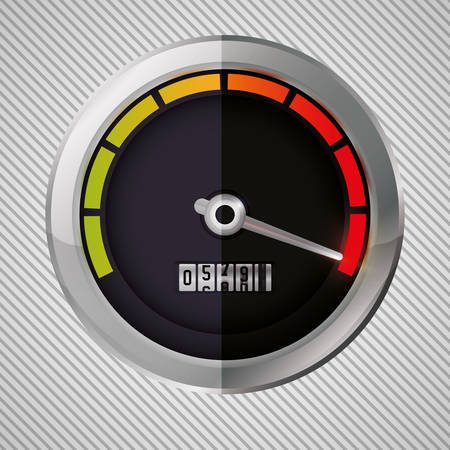 formula one: speed concept with icon design, vector illustration 10 eps graphic.