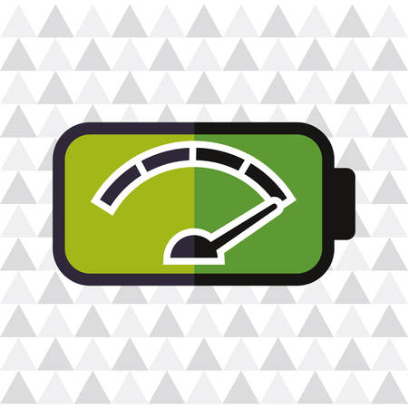 battery acid: Battery concept with icon design, vector illustration 10 eps graphic.