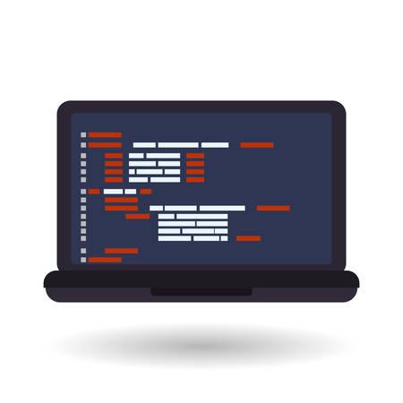 interface scheme: Responsive web design with icon, vector illustration 10 eps graphic. Illustration
