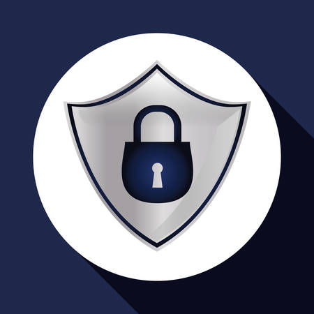 security system: Security System concept with icon design, vector illustration 10 eps graphic.