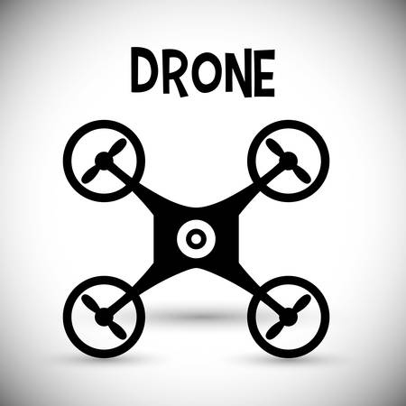 Drone concept with icon design, vector illustration 10 eps graphic.