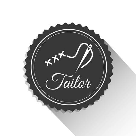 tailor shop: tailor shop concept with icon design, vector illustration 10 eps graphic.