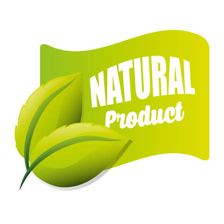 produce product: Organic Product concept with icon design, vector illustration 10 eps graphic. Illustration