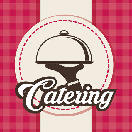 graphic icon: Catering concept with icon design, vector illustration 10 eps graphic. Illustration
