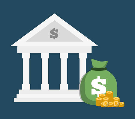 L'argent notion d'épargne avec l'icône de conception, illustration vectorielle 10 eps graphique.