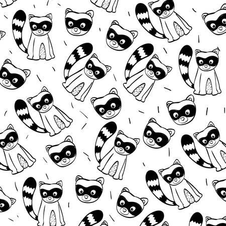skunk: Animal concept with cartoon icon design, vector illustration 10 eps graphic. Illustration