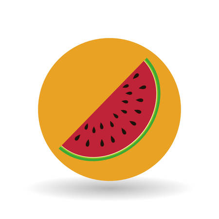 crop circles: fruit concept with icon design, vector illustration 10 eps graphic.