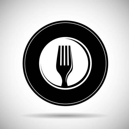 Restaurant icoon concept met pictogram ontwerp, vector illustratie 10 eps grafische.