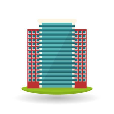 concepto de ciudad con el diseño de iconos, ilustración vectorial eps 10 gráfico.
