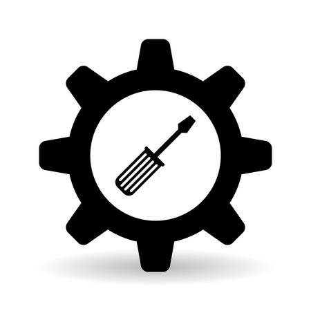 rebuilding: tools  concept with icon design, vector illustration 10 eps graphic. Illustration