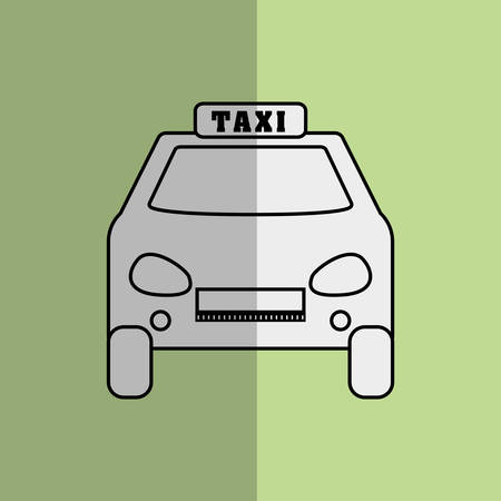 avenue: taxi concept with icon design, vector illustration 10 eps graphic. Illustration