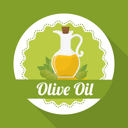olive oil concept with icon design, vector illustration 10 eps graphic.