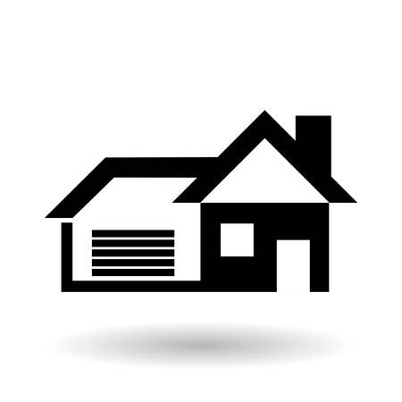 house concept with icon design, vector illustration 10 eps graphic. 向量圖像
