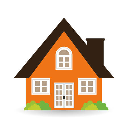 House concept with icon design, vector illustration 10 eps graphic.