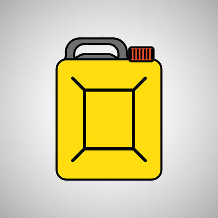 petrochemical plant: Oil industry icon concept with icon design, vector illustration 10 eps graphic. Illustration
