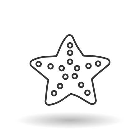 sea star: sea star concept with icon design, vector illustration 10 eps graphic. Illustration