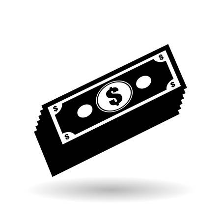 financial item: Money  concept with icon design, vector illustration 10 eps graphic.