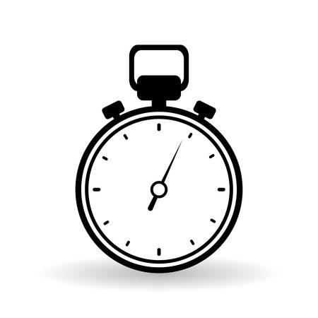 chronometer: chronometer concept with icon design, vector illustration 10 eps graphic.