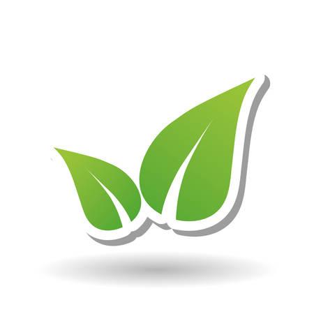 take  care: eco concept with icon design, vector illustration 10 eps graphic.